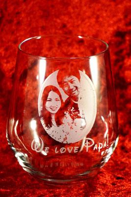 写真 ロゴ 名入れ 誕生日 プレゼント 家族 オリジナル グラス タンブラー ギフト おしゃれ ノベルティ 格安 製作 名前 オーダー