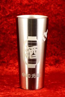 サーモス ステンレス タンブラー ノベルティ  マグ オリジナル ロゴ 名前 名入れ プレゼント 格安 おしゃれ 祝い サプライズ 東京 オーダーメイド