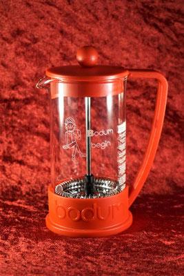 Bodum フレンチプレス Begin コーヒー ダブルウォール おしゃれ 名入れ ボダム 格安 東京 ノベルティ グッズ 記念品 アトリエ・エノン 販促 ギフト