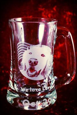 ロゴ 猫 犬 ペット 写真 グラス 世界で一つ ジョッキ  オリジナル 格安 製作 東京 プレゼント お祝い 名前 おしゃれ ノベルティ 記念品  オーダー