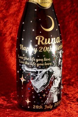 シャンパン ワイン 酒 オリジナル 写真 名入れ 名前 ロゴ  おしゃれ 格安 プレゼント オンリーワン 東京 ノベルティ 記念品