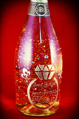 酒 誕生祝 金箔 ワイン オリジナル シャンパン ロゴ  世界で1つ 名前 オーダー 東京 名入れ オーダーメイド 格安 オリジナル ボトル