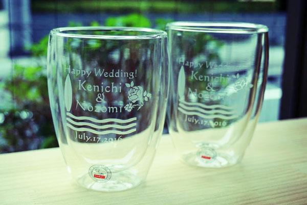 ボダム オリジナル 世界で1つ 結婚祝い ロゴ入り 名入り オーダーメイド 格安