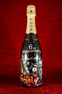 モエ オリシャン シャンパン オリジナル ボトル ワイン 酒 写真 名前 名入れ お祝い サプライズ プレゼント 格安 製作 東京 おしゃれ