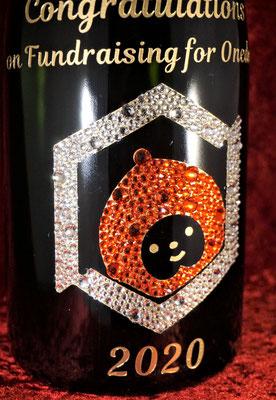 オリシャン シャンパン ワイン モエ ドンペリ 酒 スワロフスキー 写真 プレゼント オリジナルオリジナル 名前 名入れ ロゴ  ノベルティ 東京 おしゃれ 安い