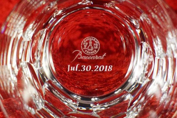 グラス バカラ クリスタル タンブラー  名前 名入れ メッセージ ロゴ お祝い ノベルティ 記念品 格安 東京 おしゃれ  サプライズ