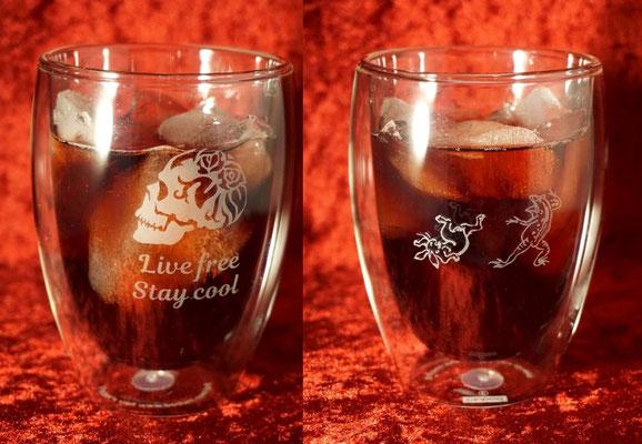 ボダム ダブルウォール オリジナル グラス 名入れ 名前 ロゴ おしゃれ 格安 ノベルティ 販促 記念品 タンブラー 東京 オンリーワン