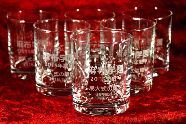オリジナル グラス タンブラー お祝い 記念品  おしゃれ ノベルティ 東京 格安 ロゴ 名入れ 開店 記念日