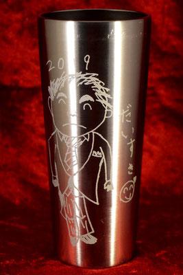 サーモス ステンレス タンブラー マグ 名前 名入れ ロゴ オリジナル イラスト プレゼント ギフト 祝 ノベルティ 格安 販促 おしゃれ 東京 オンリーワン