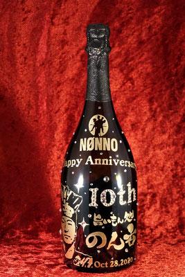 ドンペリ シャンパン ワイン オリジナル ボトル 酒 オリシャン おしゃれ 東京 格安 ノベルティ サプライズ スワロ 写真