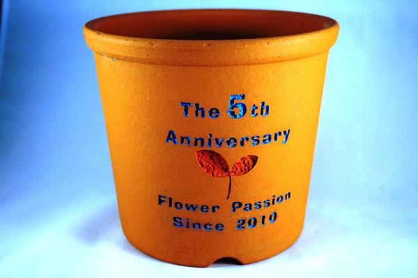 名入れ ロゴ 名前 社名 オーダー 陶器 テラコッタ  植木鉢 販促 ノベルティ 格安 製作 東京