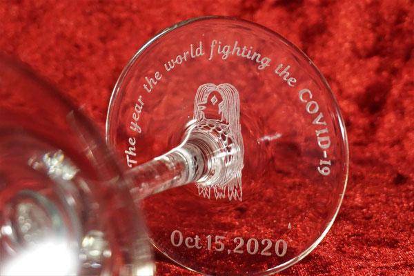 ワイングラス グラス 名入れ オリジナル 写真 名前 ロゴ メッセージ おしゃれ お祝い 東京 格安 シャンパン ノベルティ 販促