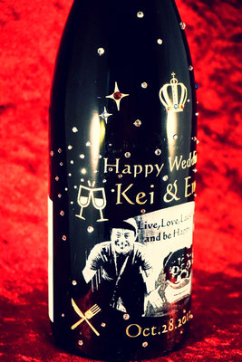 生まれ年 ワイン お祝い ギフト 結婚 写真 名入れ オリジナル サプライズ ロゴ シャンパン スワロ おしゃれ 格安 東京 製作