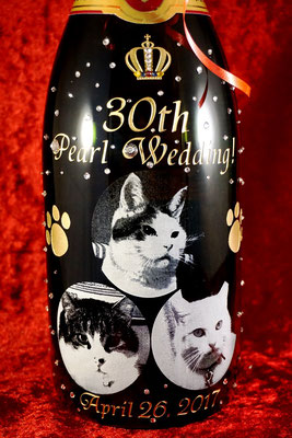 お祝い オリジナルボトル シャンパン オーダーメイド 写真 世界で1つ 格安 製作 マグナム 東京