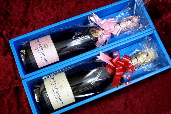 モエ・エ・シャンドン 開店祝い オリジナルボトル シャンパン ワイン ロゴ入り 記念品 格安 製作 オーダーメイド 東京 おしゃれ