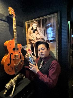 久留米 バー グレッチ ライブ ロック ロックンロール エディ・コクラン ロカビリー スタンドバー ライブハウス 人気