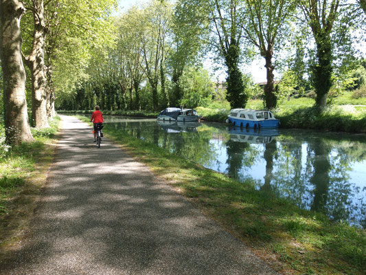 Cyclotourisme sur le canal des deux mers