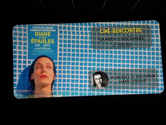 Diane a les épaules de Fabien Gorgeart, présenté au public de La Réole