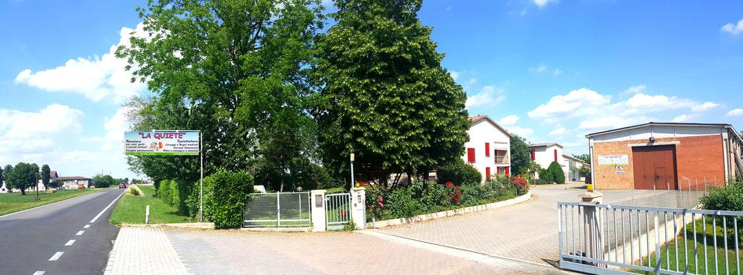La quiete è in via Claudia 73/A a Castelnuovo Sotto Reggio Emilia