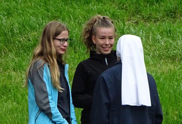 eine Schwester von Carinas Grossmutter lebt im Kloster