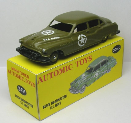 Buick Roadmaster berline militaire USA  Dinky Toys ref: 24V