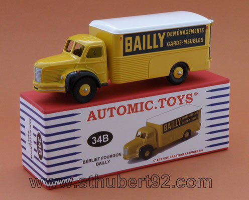 Camion Berliet GLC fourgon Bailly Dinky Toys N°34