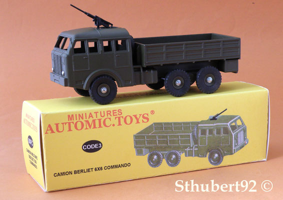 Camion Berliet  T6 6X6 Dinky Toys N°818