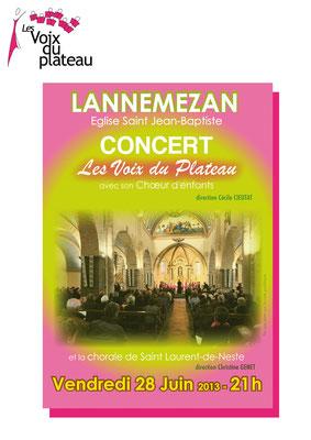concert 2013 St Laurent de Neste
