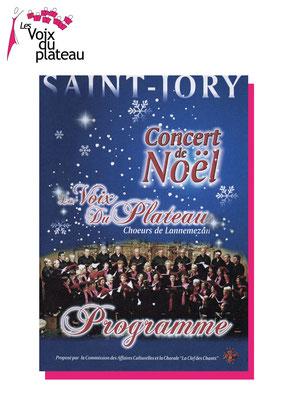 Concert noël Saint-Jory