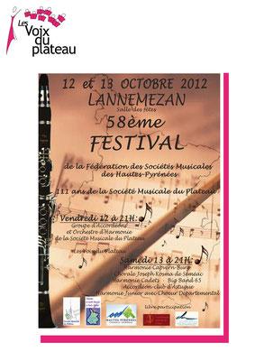 concert 58ème festival 2012 Lannemezan