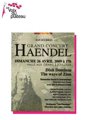 concert Haendel 2009 Toulouse