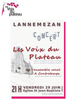 concert d'été 2012 Lannemezan