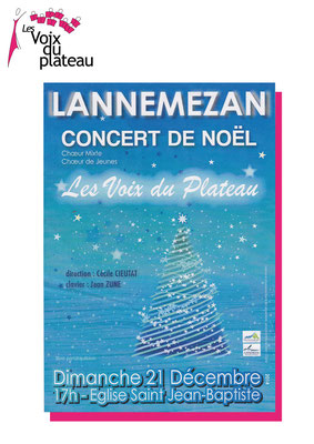 Concert noël 2015 Lannemezan