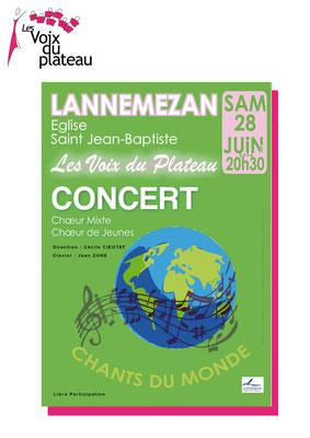 Concert d'été 2014 Lannemezan