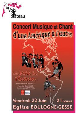 concert musique et chant 2007 Boulogne sur Gesse