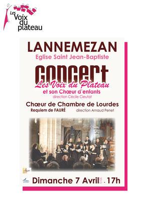 concert chœur de chambre de Lourdes 2013 Lannemezan