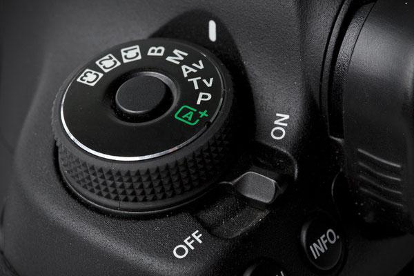 Belichtungsprogramme einer Spiegelreflexkamera