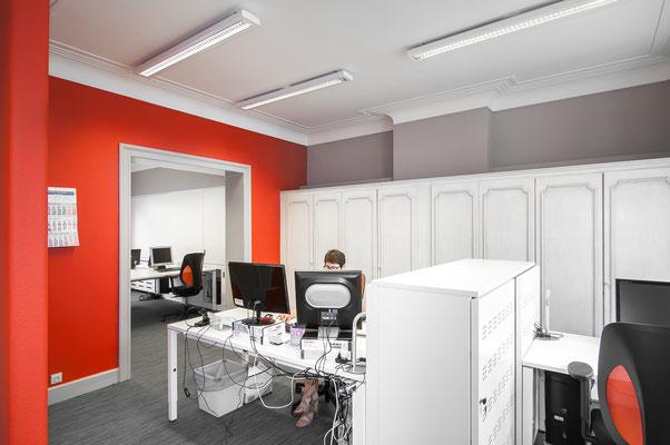 Aménagement bureaux - Verviers