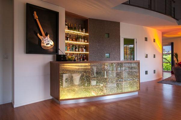 Comptoir bar rétro-éclairé led - Liège