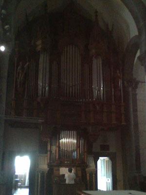 Organy w Notre Damme de la Salette