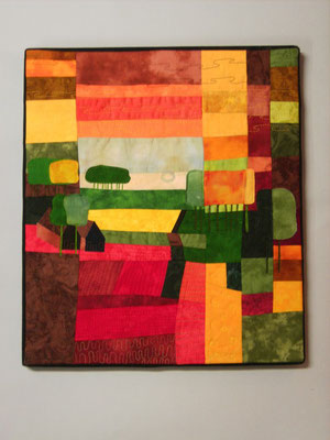 Abend - Freie Interpretation zu Ton Schulten - Bernhild Schröder 2009