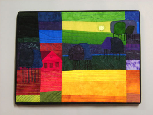 Sommer - Freie Interpretation zu Ton Schulten - Bernhild Schröder 2009
