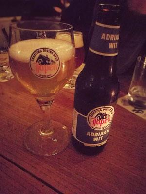 Natürlich gab es auch Bier