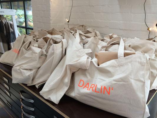 Die Goodie-Bags für die Gäste