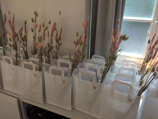 Gefüllte Goodie-Bags für alle!