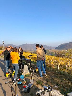Das Freizeiterlebnis in der Wachau, Besuch bei Weingütern in Spitz an der Donau, Weißenkirchen, Wösendorf in der Wachau