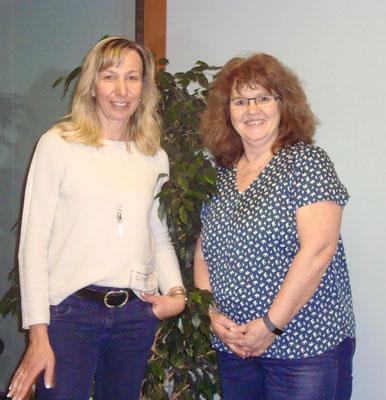 Esther Herzig und Anneliese Egloff, die neuen Vorstandsmitglieder