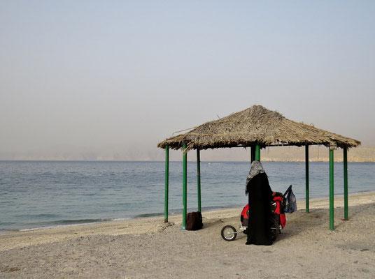 Strandlagerplatz