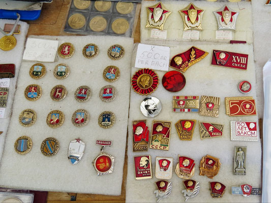 Orden aus Sowjetzeiten