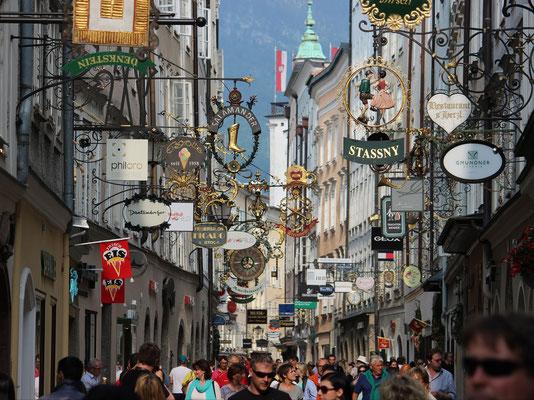 In den Gassen von Salzburg